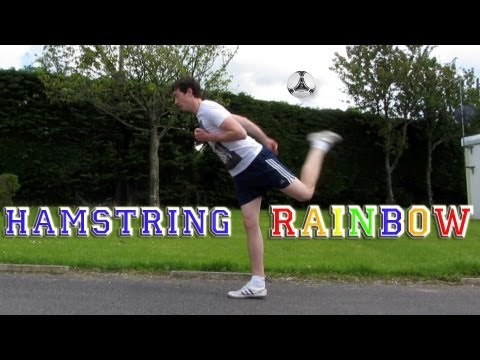 Hamstring Rainbow (Tutorial) :: Freestyle Football / Soccer