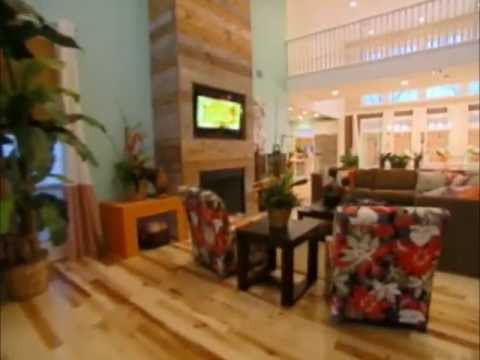 FauxPanels™ & FauxWoodBeams™ on Extreme Makeover Home Edition -
