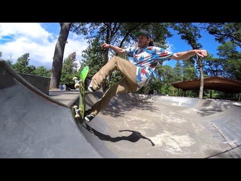 Скейтбординг с Тимом