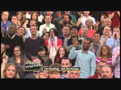 I'm Cheating ... Get The Picture (The Jerry Springer Show)