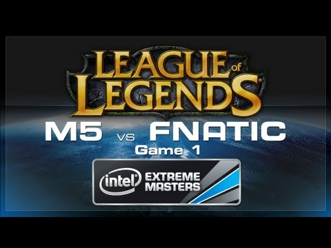 LoL Gamescom - Moscow 5 vs Fnatic Game 1 - European Regionals