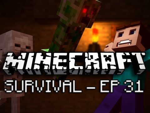 Minecraft: Survival Let's Play Ep. 31 - Questionable Tool Realism