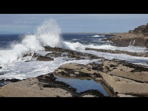 RELAXATION MEDITATION-Soothing Sounds of the Sea W/O Music-Calming Ocean Waves-Sound of Wind