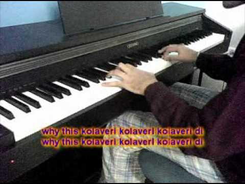 Why this Kolaveri Di Piano Cover By Angad Kukreja