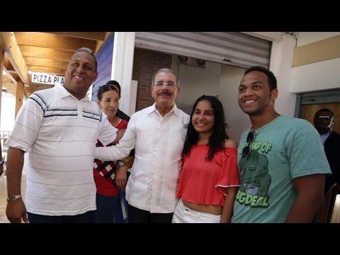 En visita sorpresa; Danilo dará más impulso a turismo en Las Terrenas
