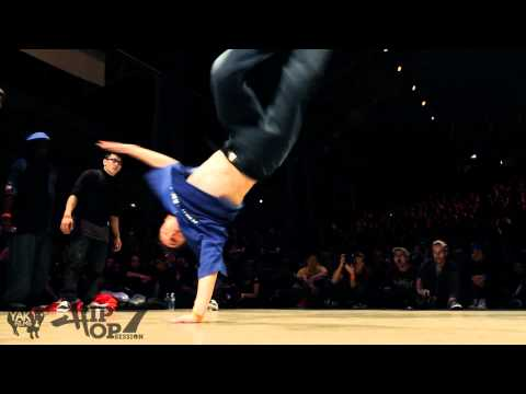 KNUCKLEHEADS CALI vs PREDATORZ   Hip Opsession 7 Bboy 3on3 Semi Final Battle 2011 YAK FILMS