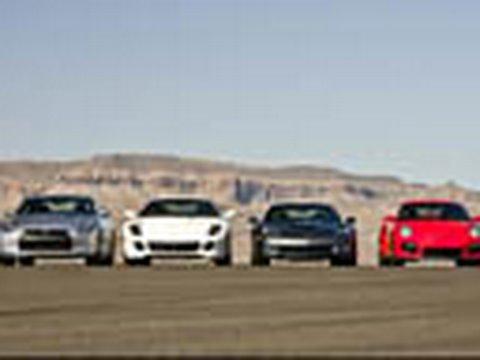 ZR1 Drag Race King - Spanks GTR, 599, and GT2