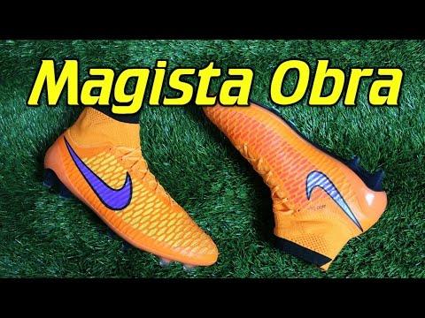 Nike Magista Obra Total Orange/Persian Violet (Intense Heat Pack) - Review + On Feet - vujojosh
