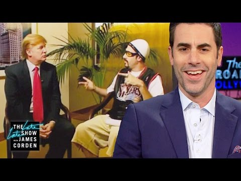 Sacha Baron Cohen Recalls the Ali G-Donald Trump Meeting