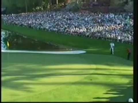 TIGER WOODS Masters Greatest Shot Ever