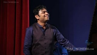 AR Rahman performs Kadal songs on stage – Chat With Arjun