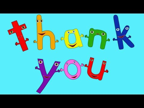 The Thank You Song -OcfqDPAy7zc