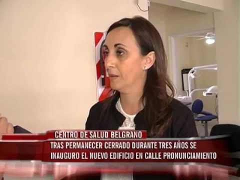 Centro de Salud Belgrano tras permanecer cerrado durante tres años se inauguro el nuevo edificio