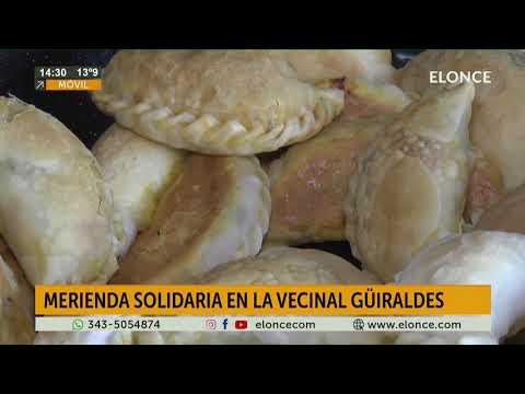 VEcinal Guirldes: Realizaron locro y meriendas para festejar el Día de la Independencia