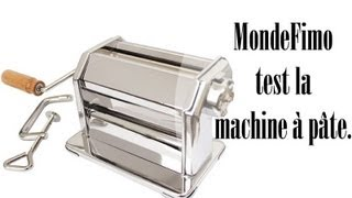 Mondefimo Test La Machine à Pâte Youtube