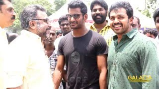 Vishal Fulfils His Promise Kollywood News  online Vishal Fulfils His Promise Red Pix TV Kollywood News