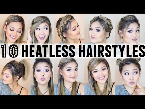 10 Heatless Hairstyles For Back To School 0000 Play