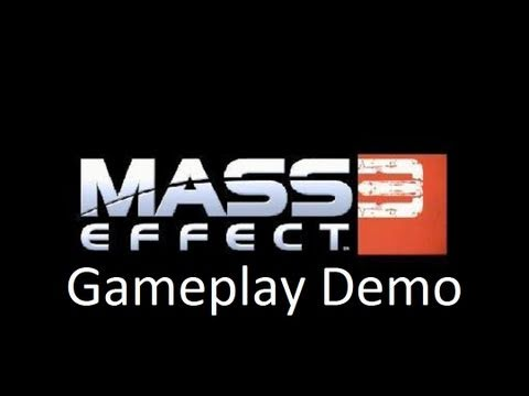 Mass Effect 3 - Gameplay Demo Walkthrough