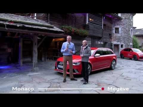 Tag sieben der Audi Land of quattro Alpen Tour 2013