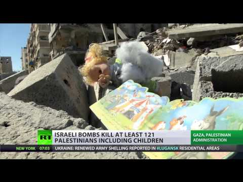 (Israel) killing more children: Acting like Nazi force, death toll over 100   7/12/14