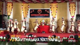 Kavithalaya naatiyapalli 2014 arangetram and salangaipoojai function