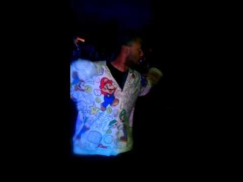 Hip-hop dancer: Justin Williams