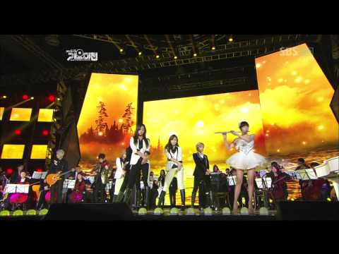 111229 SM Town Orchestra @ 2011 SBS Gayo Daejun