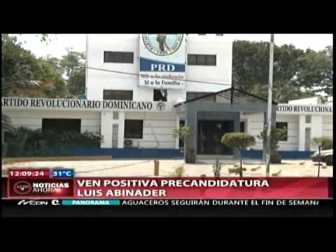 Dirigentes del PRD ven como positiva l aprecandidatura&amp;#8230;
