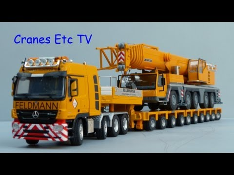 Cranes Etc TV: HTM Feldmann MB Titan + Goldhofer Trailer Review