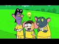 Фрагмент с конца видео - Rat-A-Tat | Chotoonz Kids Cartoon Videos- 'Kick Off'