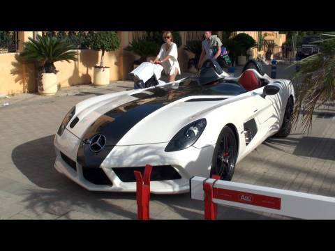 McLaren Mercedes SLR Stirling Moss - Startup, Revs, Walkaround