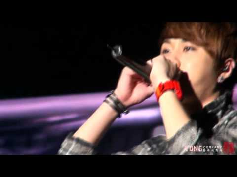 [Fancam] BEAST Junhyung focus - Thanks To @ United Cube Concert 110814