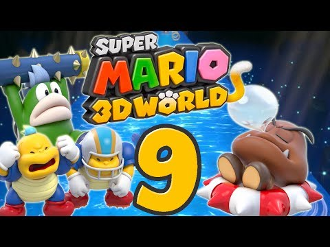 Let's Play Super Mario 3D World Part 9: Der Karumpel-Boss