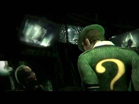 "Batman: Arkham City ""Riddler"" Trailer -Oke_bsQR3Zc"