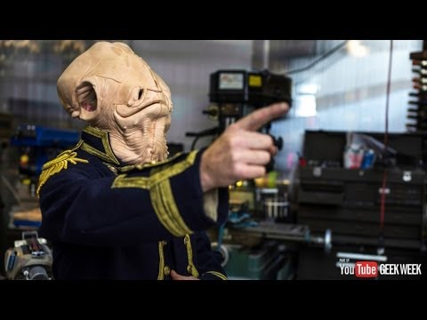 Making Adam Savage's Admiral Ackbar Cosplay Costume (Geek Week!)