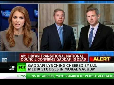 In Praise of Lynching: US media cheers Gaddafi killing