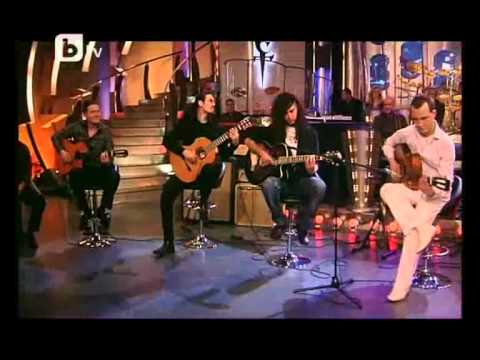Paco de Lucia - 'Rio Ancho' (Tsvetan Nedyalkov and his students in the 'Slavi's Show')