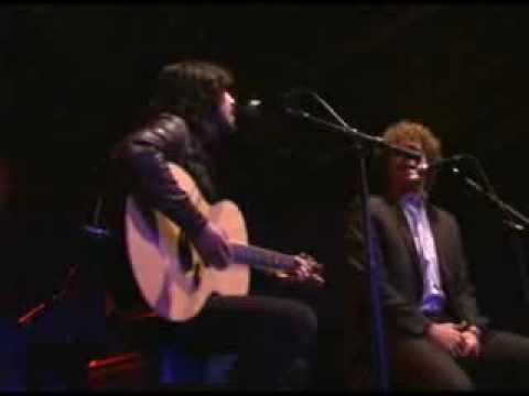 Will Ferrell and Dave Grohl duet- Leather and Lace live