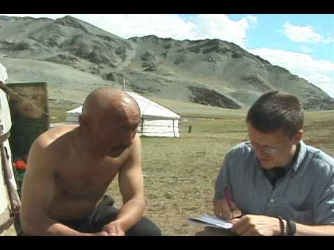Mr. Nurgaazi, a Tsengel Tuvan in Western Mongolia