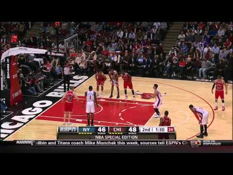 [HD] Jeremy Lin: Knicks vs Bulls - FULL HIGHLIGHTS (15 pts, 7assts, 3 stls/blks) 3.12.2012