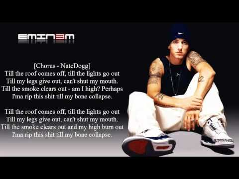 Eminem - Till I Collapse - Lyrics - (HD)