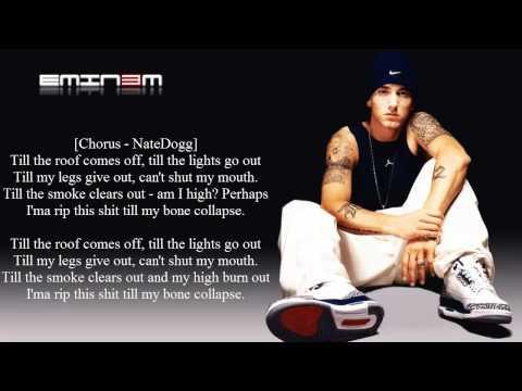 Eminem - Till I Collapse - Lyrics - (HD)