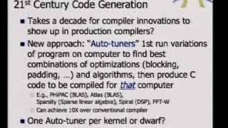 Computer Architecture is Back: Parallel Computing Landscape view on youtube.com tube online.