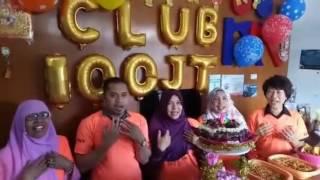 Ucapan Ulang Tahun Club100Juta ke VI