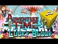 Minecraft: Adventure Time Lucky Block PVP Edition! Modded Mini-Game w/Mitch & Friends!