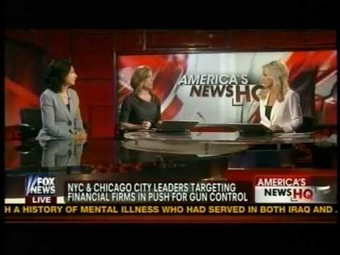 Mary Walter on Fox News' Americas News Headquarters February 3rd, 2013