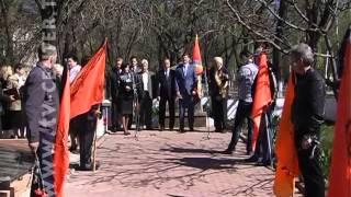 В Горловке чествовали чернобыльцев