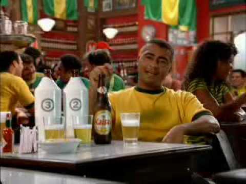 Comercial: Romário escala a Kaiser - Teste das Cervejas