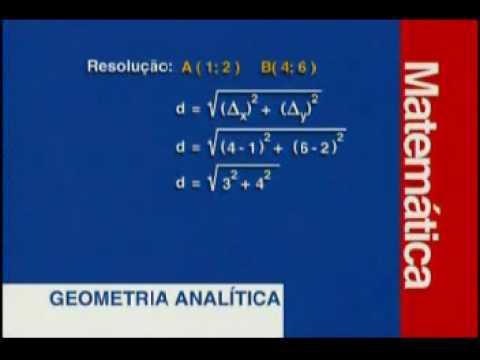 Matemática - Geometria Analítica - Parte 1 - 2