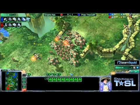 Game 2 - Prae.ThorZaIN vs Empire.Kas - TSL3 Semi-Final Match 1